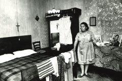 Abruzzo: interno di una casa a Pescina, 1973